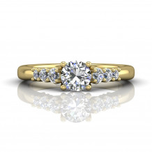 Martin Flyer 18k Yellow Gold FlyerFit Engagement Ring