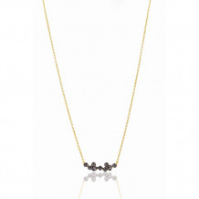 Freida Rothman Double Helix Pendant Necklace