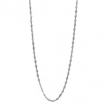 Freida Rothman Black Rhodium Plated Sterling Silver Necklace