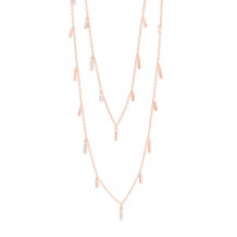 Freida Rothman 14k Rose Gold Plated Sterling Silver Necklace