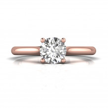 Martin Flyer 14k Rose Gold FlyerFit Engagement Ring