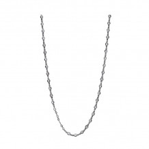 Freida Rothman Black Rhodium Platted Sterling Silver Necklace