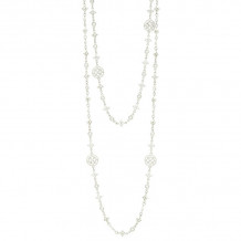 Freida Rothman Platinum Plated Sterling Silver Necklace
